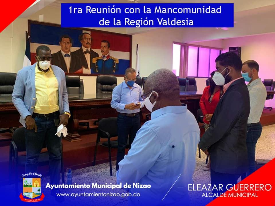 1era Reunión de la Mancomunidad Peravia.