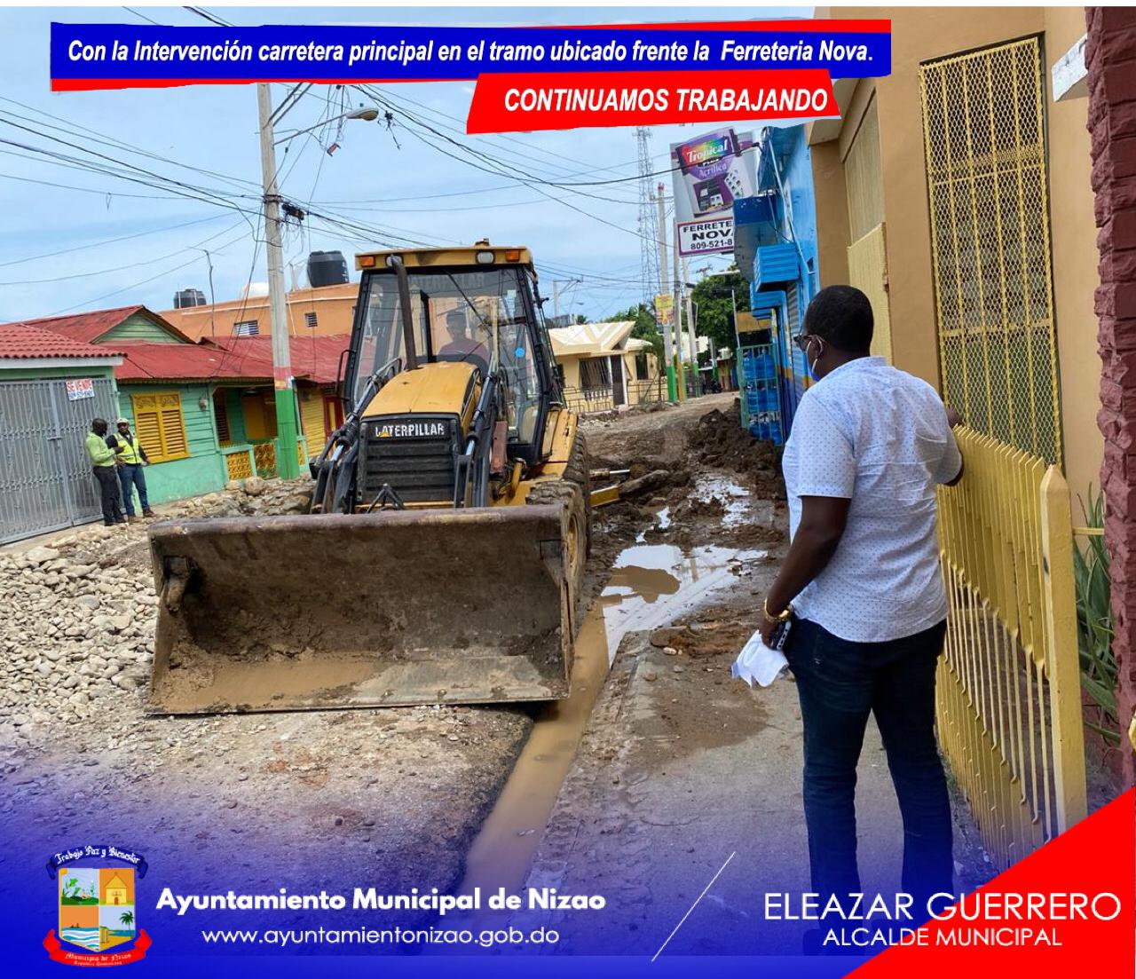 Eleazar Guerrero Alvino Alcalde Municipal: De Manera Simultanea La Alcaldia Del Municipio De Nizao